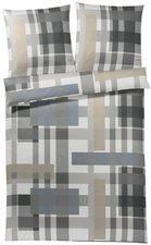 Joop Layers stone grey ( 80 x 80 + 155 x 220 cm)