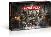 Winning Moves Monopoly Assassin's Creed Syndicate (Deutsch)
