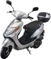 IVA Scooter New Jet Silber (45 km/h)