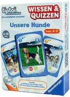Ravensburger tiptoi Wissen & Quizzen: Unsere Hunde von A - Z