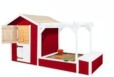 weka Holzbau Kinderspielhaus Philipp mit Pergola