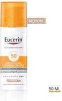 Eucerin Sun CC Creme Getönt Hell LSF 50+ (50ml)