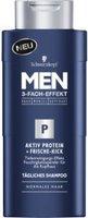 Schwarzkopf Men Aktiv Protein + frische-Kick Shampoo (205ml)