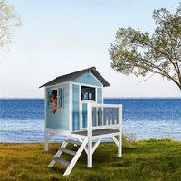 AXI Sunny Lodge XL (blau/weiß)
