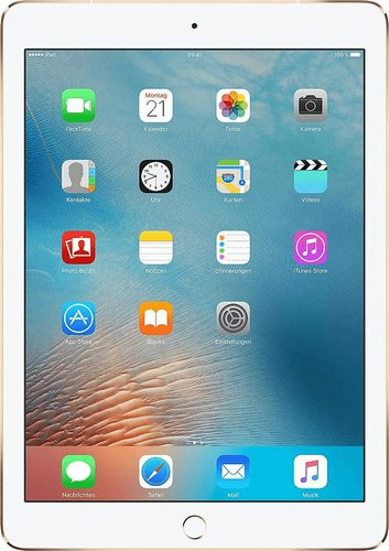 apple ipad pro 9 7 128gb 4g gold ab 799 95 im. Black Bedroom Furniture Sets. Home Design Ideas