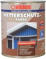 Wilckens Wetterschutz-Farbe weiß (9010) 0,75 l