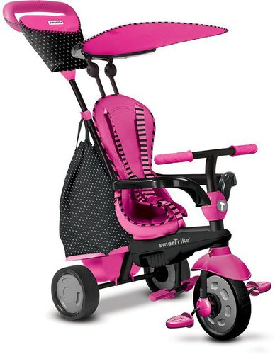 Smart Trike Glow 4 in 1 mit Touch Steering Pink