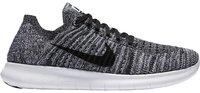 Nike Free RN Flyknit W white/black