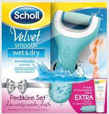 Scholl Velvet Smooth Pedi Wet & Dry Vorteilspack