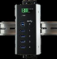 Exsys 4 Port USB 3.0 Hub (EX-1185HMVS-WT)