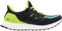 Adidas Ultra Boost Men semi solar slime/night navy/shock blue