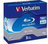 Verbatim BD-R DL 50GB 270min 2x 5er Jewelcase