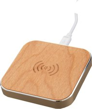 Peter Jäckel Qi Wireless Charger Woody gold