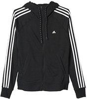 Adidas Essentials Sweatjacke Damen schwarz/weiß