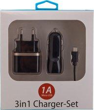 Peter Jäckel 3in1 Charger Set USB
