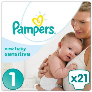 Pampers Premium Protection Sensitive New Baby Gr 246 223 E 1 2