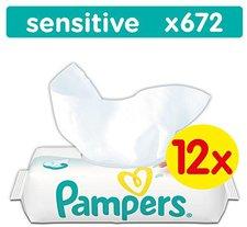 Pampers Feuchttücher Sensitive (12 x 56)