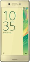 Sony Xperia X Performance lime gold ohne Vertrag