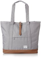 Herschel Market Tote XL grey/tan synthetic leather