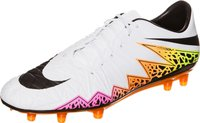 Nike Hypervenom Phatal II FG white/black/total orange/volt