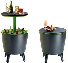 Keter Cool Bar Partytisch anthrazit/grün