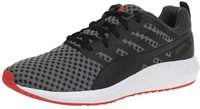 Puma Flare black/white/high risk red/asphalt