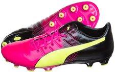 Puma evoPOWER 1.3 Tricks AG pink glow/safety yellow/black