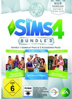 Die Sims 4: Bundle 3 - Gaumenfreuden + Heimkino- + Romantische Garten-Accessories (Add-On) (PC/Mac)