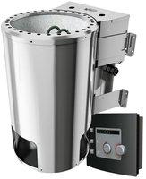 Karibu Plug & Play Bio-Kombiofen 3,6 kW mit externer Steuerung (KAR-71314)