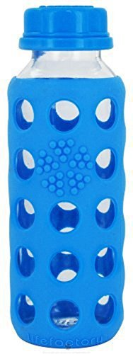 lifefactory Classic Glas-Trinkflasche (250 ml)