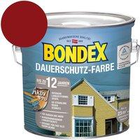 Bondex Dauerschutz-Farbe Schwedenrot 2,50 l