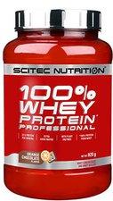 Scitec Nutrition 100% Whey Protein Professional Orange-Schoko 920g