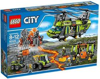 LEGO City Vulkan-Schwerlasthelikopter (60125)