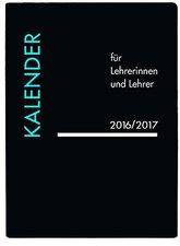Korsch Lehrerkalender PVC schwarz 2017