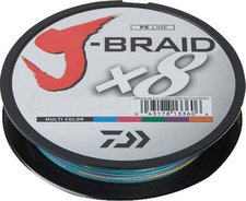 Daiwa J-Braid X8 multi color 300m 0,20mm