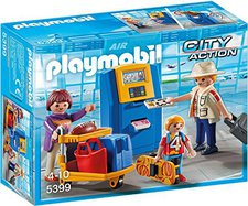 Playmobil City Action - Familie am Check in Aut...