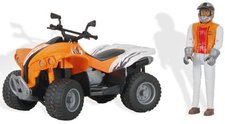 Bruder Quad Racer orange (09032)