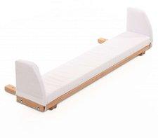 Babybay Bettverlängerung und Wandregal Original seidenmatt klarlackiert