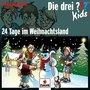 Kosmos Die drei ??? Kids: Adventskalender 24 Tage im Weihnachtsland