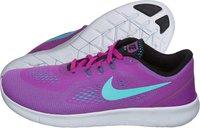 Nike Free RN GS hyper violet/hyper turquoise/black/white