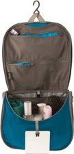 Summit Outdoor Light Hanging Toiletry Bag L blue/grey