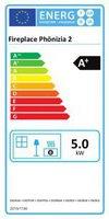 Fireplace Phönizia Sandstein schwarz (K5661)