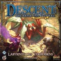 Heidelberger Spieleverlag Descent 2. Edition: Labyrinth des Verderbens