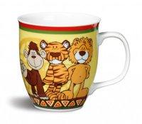 Nici Tasse Wild Friends Löwe, Tiger und Affe