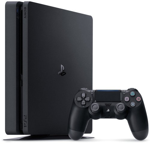 sony playstation 4 ps4 slim 500gb g nstig online kaufen. Black Bedroom Furniture Sets. Home Design Ideas