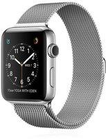 Apple Watch Series 2 Edelstahl silber mit Milanaise Armband