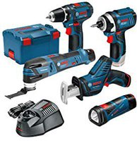Bosch Five-Tool-Set LIMITED EDITION XL (0 615 990 GE8)