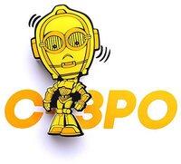 3DLight FX Star Wars C3PO LED Wall Light 13 cm