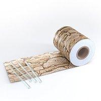 Serina PVC-Sichtschutzstreifen 19cm x 70m Naturstein