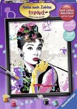 Ravensburger Malen nach Zahlen Trend Audrey Hepburn